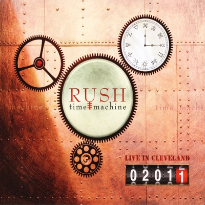Rush - Time Machine: Live in Cleveland 2011 (album cover)